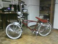 I have a lowrider bike. it has a new paint job, chrome
