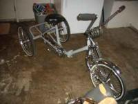 I HAVE A LOWRIDER BIKE IM ASKING 400 HUNDRED 4 ANY INFO