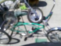 Lowrider tricycle... nice paint...$180...call  //