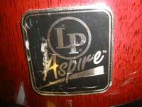 LP Aspire Bongos. become a bongo drummer. Please email