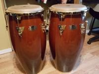 LP CONGAS CALIENTE SELLING $275 FOR THE PAIR AND THE