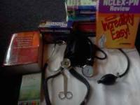 Lpn textbooks Niclex books, lpn pocket notes Nursing