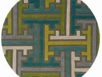 The Vibrance Collection is hand tufted in India of 100%