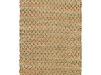 This Natural Fiber area rug is hand woven in India of