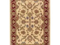 Traditional Persian Design with Contrast Color Border.