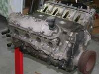 LS1 ENGINE W/FRONT,REAR COVERS AND BALANCER.HAS 98