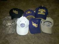 I have 7 different LSU hats. Will sell for $30 a piece