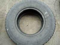 I have 1 LT 245/75 16 10 ply tire for sale Goodyear