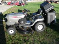 Riding mower in excellent shape. True hydrostatic