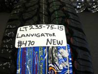 I Have A Set Of 4 (LT235-75-15) LANVIGATOR NEW WHEELSES