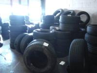 PAIR OF USED TIRES LT235/80R17  (3085 MAX LOAD, 5 PLY,