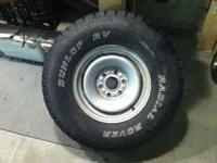 I have ONE LT 255/85/R16 tire in very good shape. It is
