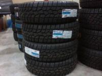We have LT285/70R17 Concours A/T 10 ply tires tires on