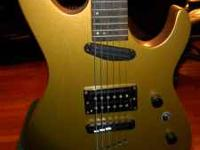 I have an LTD ESP MV-100 gold metal flake guitar for