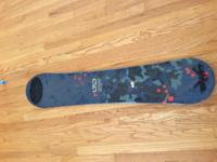 ltd snowboard tracer asking $50 OBO, cash only, no