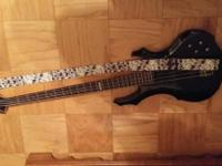 I'm selling my 4 string electric bass and gator case