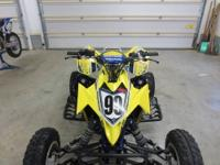 Up for sale is my 07' LTR450. I am the original owner