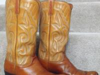 Original Lucchese Men's Boots made in original factory
