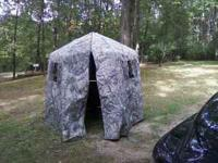 Lucky's hunting blind for sale. Six foot wide hexagon