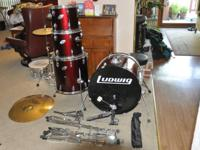 I'm selling my Ludwig drum kit. Includes everything