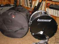 I have a like new silver 16x22 Ludwig Bass Drum with a