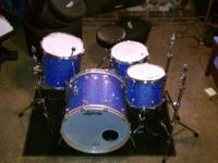 "Ludwig Classic Maple ""Power 4"" kit. 11x13 and 16x16"