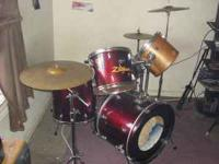 I have for sale a used Ludwig drum set. the set