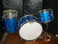 GREAT SET OF EARLY SIXTIES LUDWIG DRUMS! PERFECT