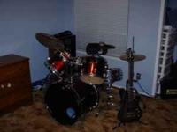 I have a 5 pc Ludwig Drumset. Includes AA, AAX Sabian