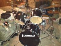 I have a FULL Ludwig drum set, all heads are intact and