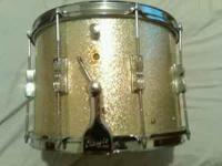 Beautiful vintage 1964 Ludwig snare with the original