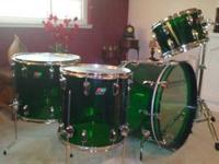 2011 LUDWIG GREEN VISTALITE REISSUE LIMITED EDITION