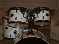 """FOR SALE"" LUDWIG 4PC SHELL PAK, WITH ARMOR HEAD SOFT"