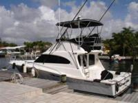 Up for sale is a beautiful Luhrs 380 Tournament,
