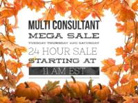 50+ LulaRoe Multi Consultant Sale starts at 11am EST