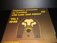 FRIGIDAIRE PRESENTS AN EVENING WITH LUM AND ABNER ALBUM