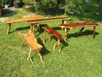 All kinds of rough sawn lumber, can cut to your specs,