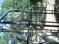 Lumber rack for a Chevy/ GMC sportside with a