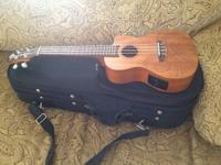 Brand New!!   Luna Guitars Tattoo Concert Ukelele with