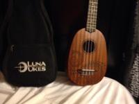 Up for sale is a brand new Luna ukulele with brand new