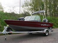 Lund 1650 Rebel XL - Never before has a small fishing