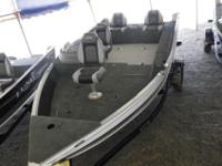 Lunds 1775 Impact aluminum fishing boats are sure to