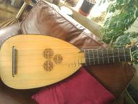 Edlinger style 13 course baroque lute with Braz.