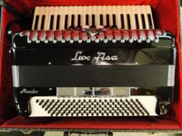 LUX FISA Maestro Accordion w/ Piano Keys EXCELLENT