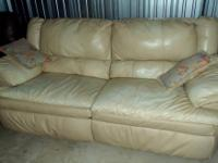 This is a used reclining couch and have to sell to make