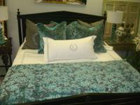 WE CAN CUSTOM ORDER ANY BEDDING! THIS IS LUXURIOUS AND