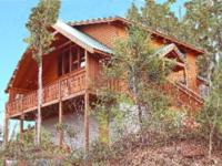 Luxury Vacation Cabin Rental easily located between