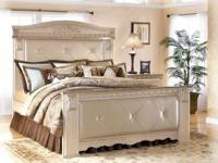 LUXURY KING BEDROOM SET SILVERGLADE MANSION COLLECTION