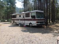 We have a beautiful Overland RV that is 38ft of luxury