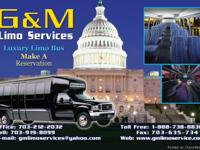 limo & bus services/tours /night out/ sightseeing